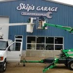 Skip's Garage Exterior Commercial Signage Installation