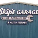 Skip's Garage Exterior Commercial Signage