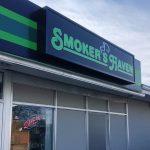 Smoker's Haven Exterior Retail Signage