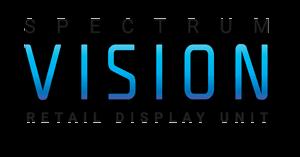 Spectrum Vision Retail Display Unit Logo