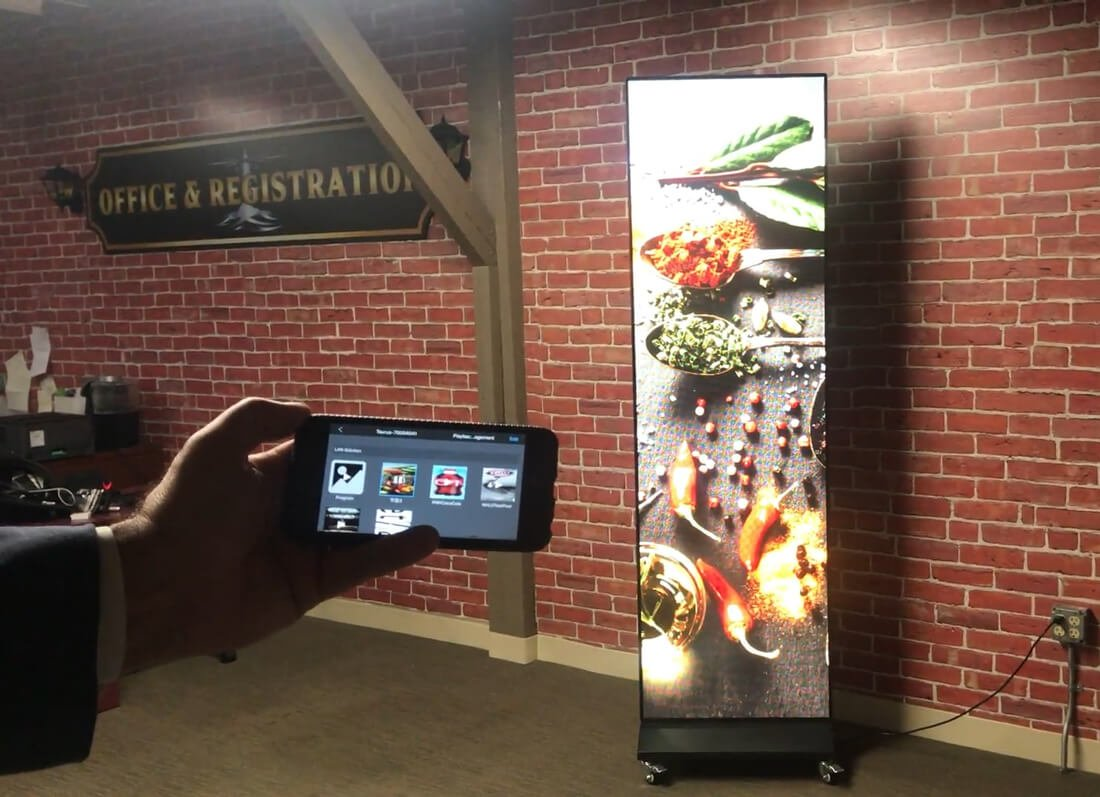 Spectrum Vision Retail Display Unity with Control