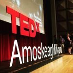Custom TEDx Cut Out Letters Installation