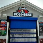 The Dog House car wash exterior retail signage
