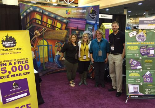 TRADE SHOW GRAPHICS - Planet Fitness Trade Show