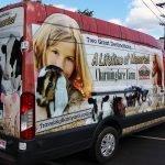 van vehicle wrap