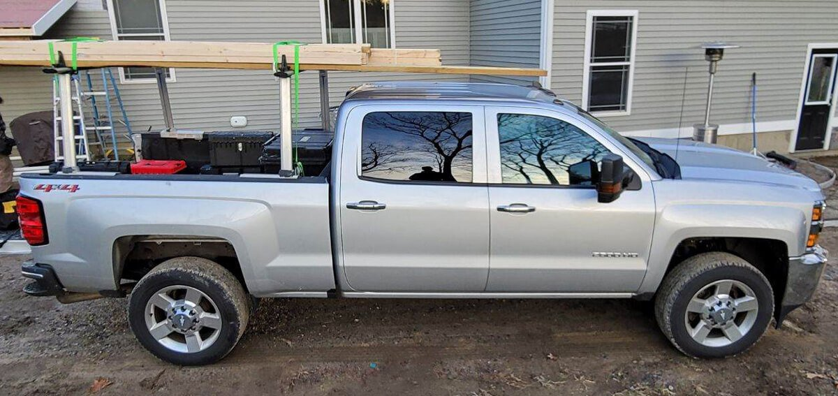 NW Painting Truck before