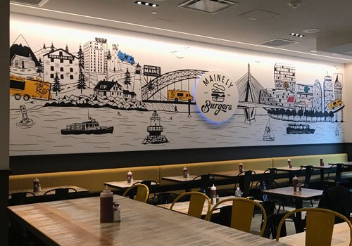 Custom Wall Graphics and Murals