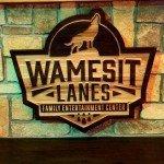 Wamesit Lanes Signage