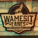 Wamesit Lanes Wood Interior Decorative Signage