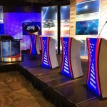 print nh WMUR podium installation